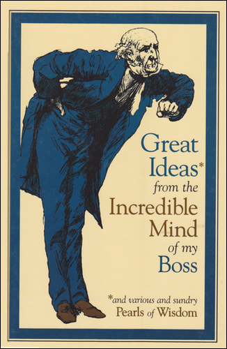 cover of Great Ideas From the Incredible Mind of My Boss.