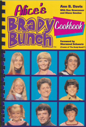 Cover of Alice's Brady Bunch Cookbook.