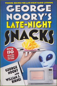 Cover of George Noory's Late-Night Snacks Cookbook.