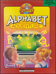 Cover of Qwerty's Alphabet Adventure.