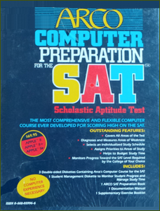 Cover of Arco Computer Preparation for the SAT.