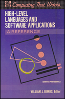 Cover of High Level Language and Software.