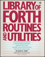 Cover of Library of Forth Routines.
