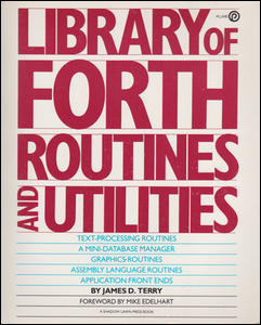 Cover of Library of Forth Routines and Utilities.