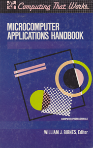 Cover of Microcomputer Applications Handbook.