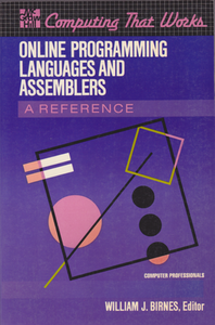 Cover of Online Programming Languages and Assemblers.