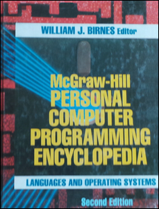 Cover of Personal Computer Programming Encyclopedia (Second Edition).