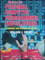 Cover of Personal Computer Programming Encyclopedia.