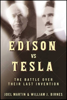 Cover of Edison vs. Tesla.