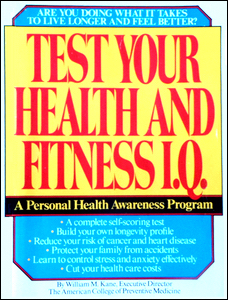 Cover of Test Your Health and Fitness I.Q.