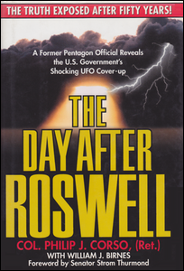 Cover of The Day After Roswell.