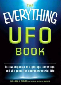 Cover of The Everything UFO Book.