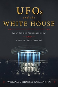 Cover of UFOs and the White House.