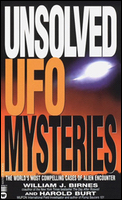 Cover of Unsolved UFOs.