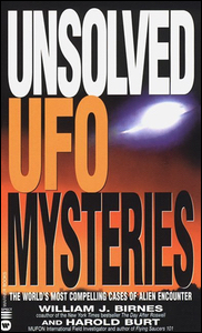Cover of Unsolved UFO Mysteries.