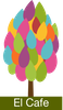 My own logo tree for the Eleusinian Cafe product.
